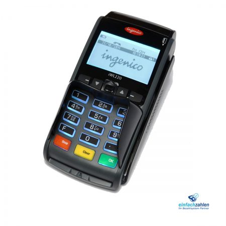 Ingenico iWL 220 GPRS - generalüberholtes mobiles EC Terminal